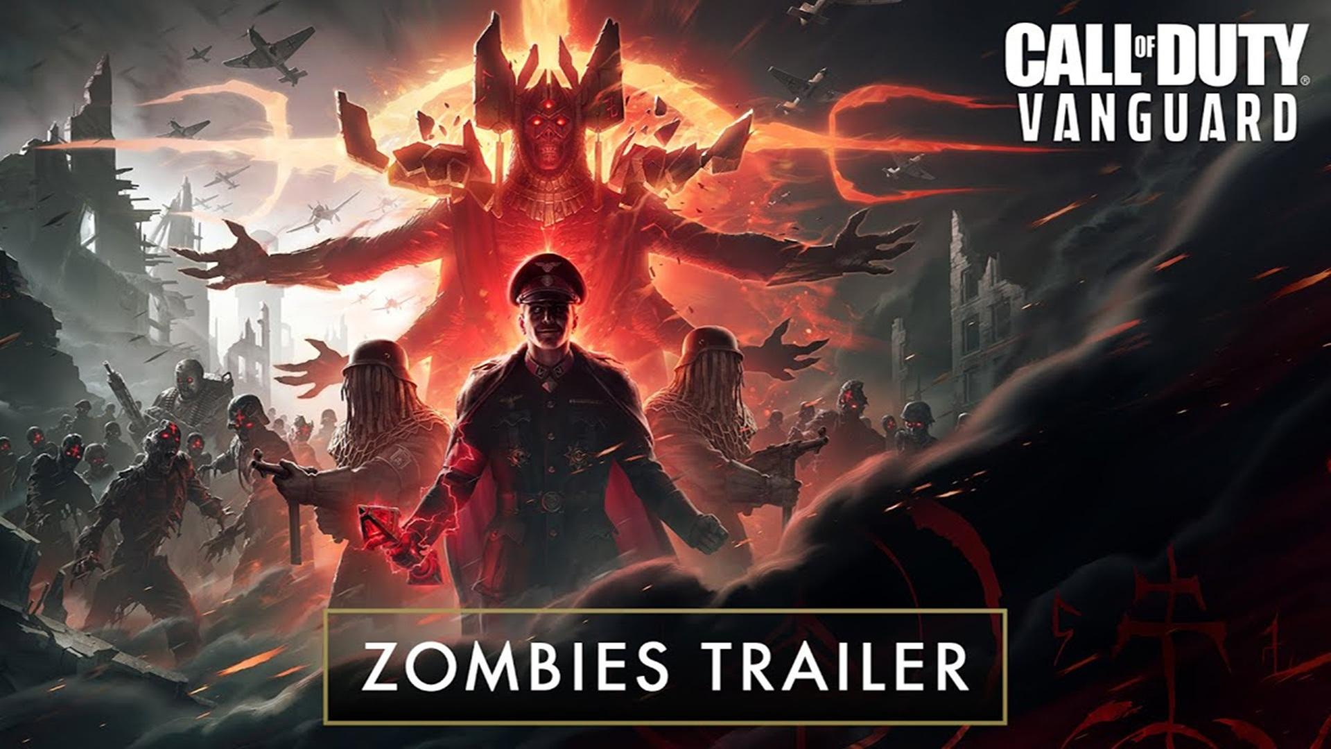 Call of Duty: Vanguard revela la nueva experiencia Zombies en nuevo tráiler, GamersRD