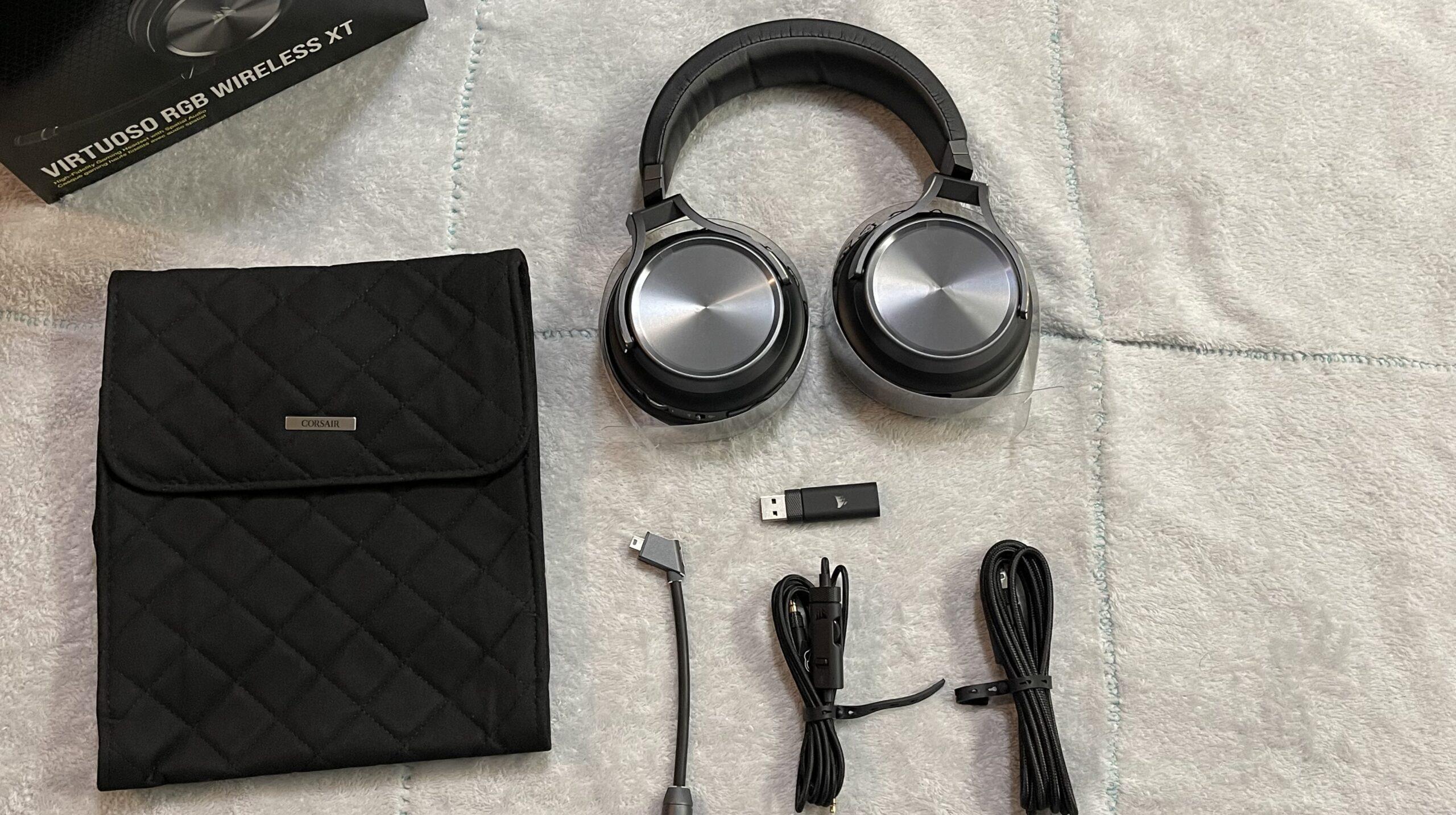 Corsair Virtuoso RGB Wireless XT Gaming Headset Review GamersRD