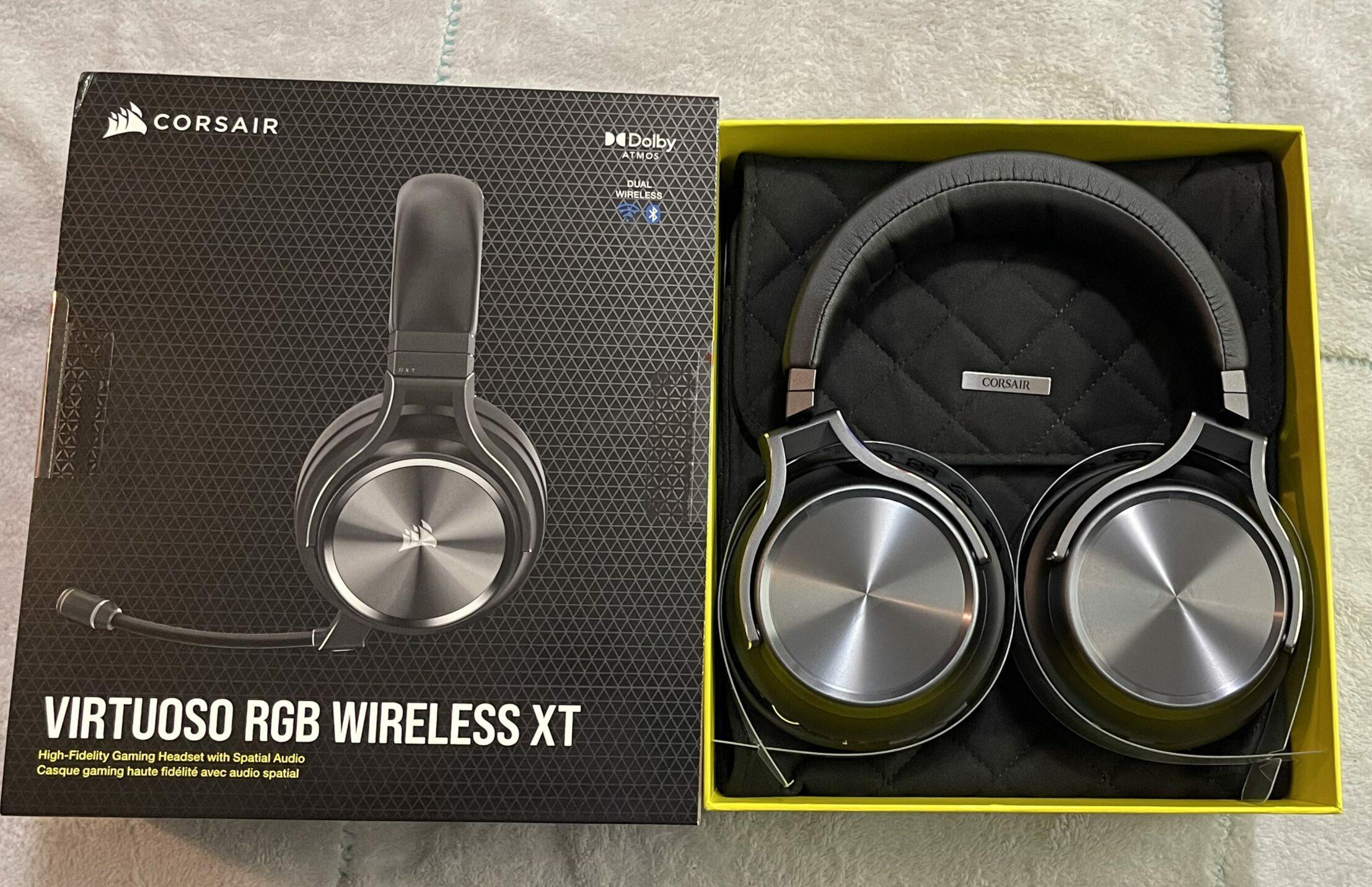 Corsair Virtuoso RGB Wireless XT Gaming Headset Review GamersRD2