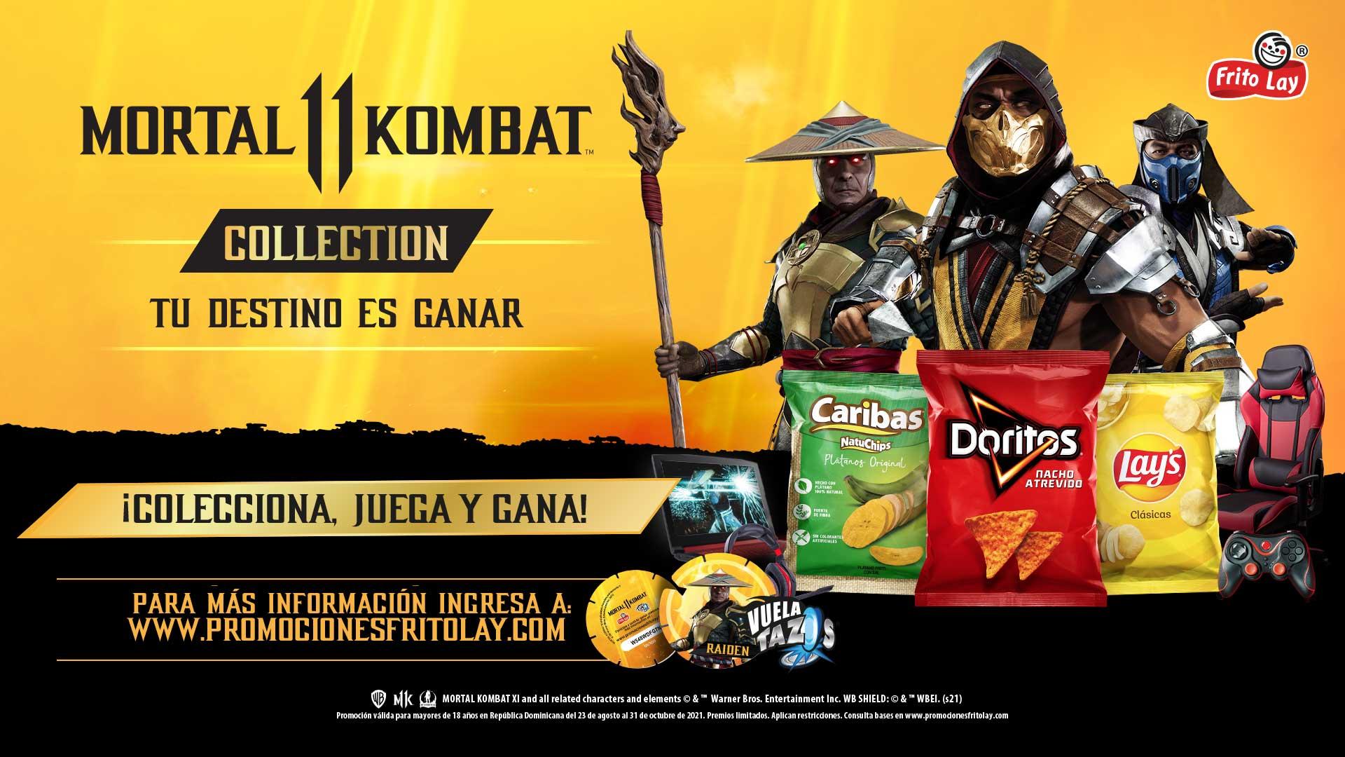 Fritolay y Mortal Kombat te regalan varios premios, entra para participar en la promoción, GamersrRD