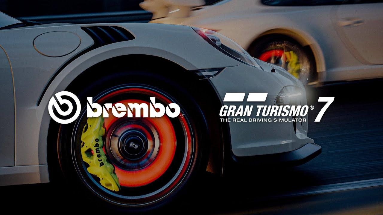 Gran Turismo 7 anuncia a Brembo como socio oficial en sistemas de frenado, GamersRD