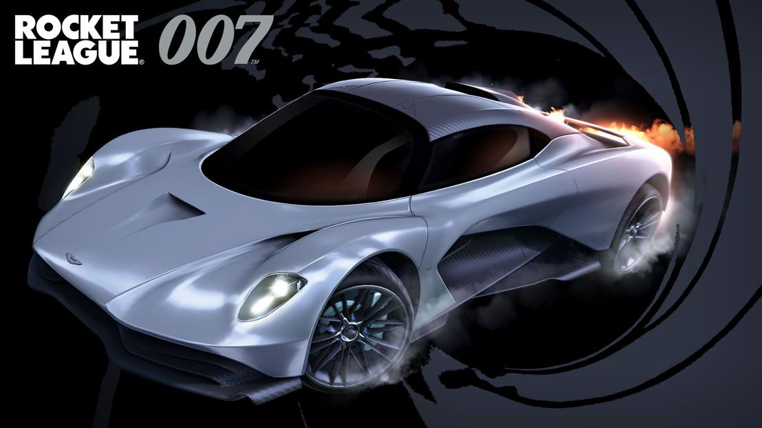 James Bond regresa a Rocket Leaguecon el 007's Aston Martin Valhalla, GamersRD