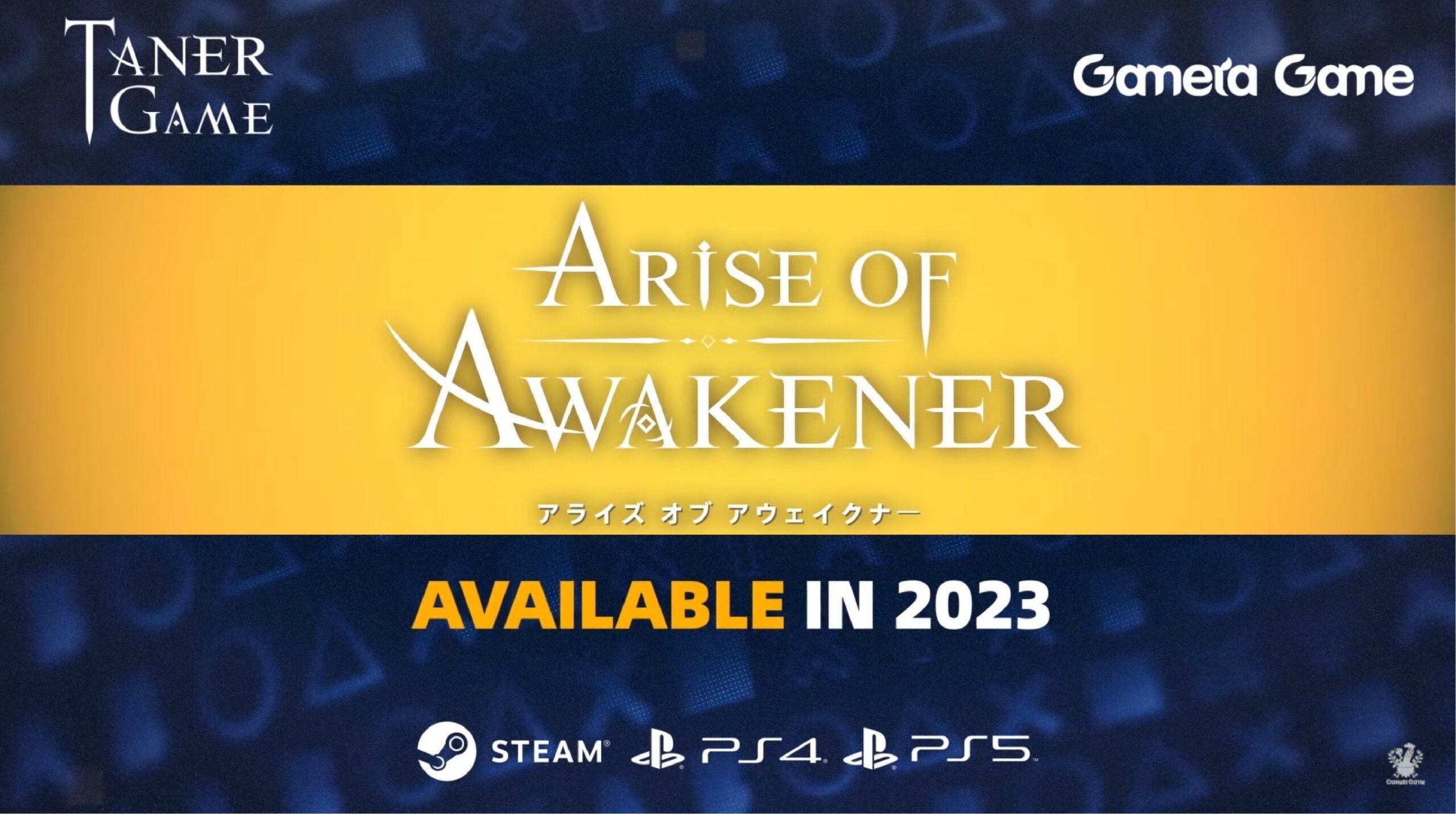 Arise of Awakener es un nuevo RPG de acción que llegará en 2023 para PS4, PS5 y PC
