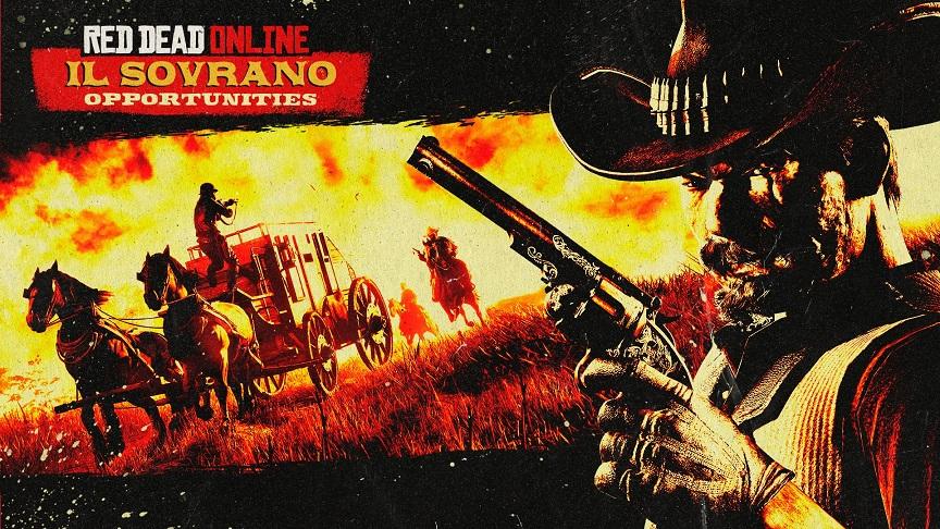 Red Dead Online Doble RDO$ y XP por robar Il Sovrano, Además, bonificaciones, descuentos y mucho más, GamersRD