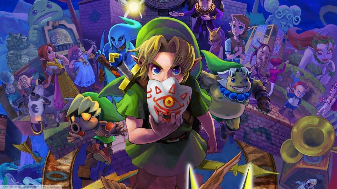 The Legend of Zelda: Majora's Mask obtiene un nuevo paquete de texturas HD, GamersRD