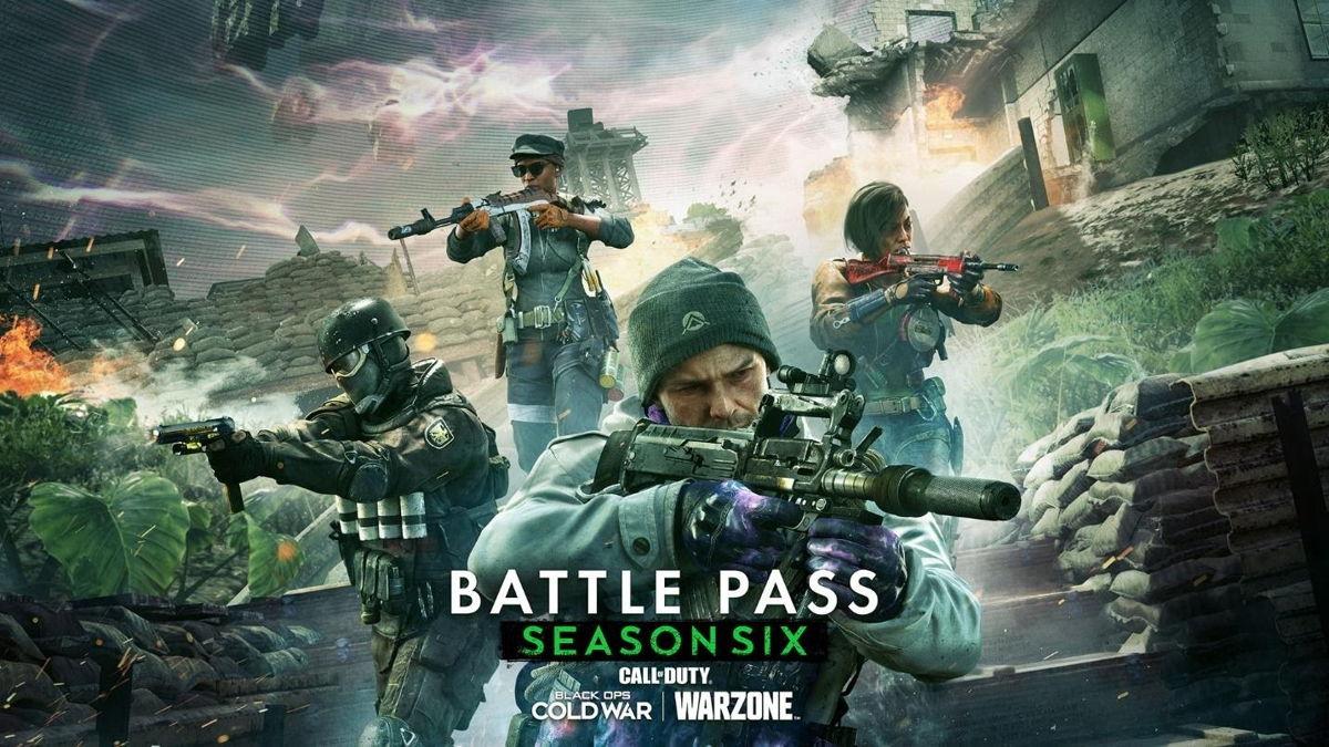Todo lo que necesitas saber del Battle Pass de la Temporada Seis de Call of Duty Black Ops Cold War y Warzone, GamersRD