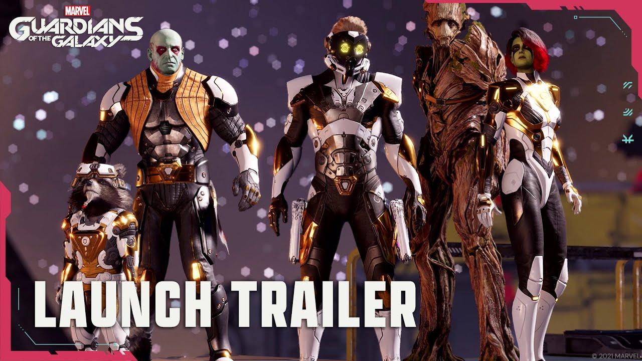 Marvel's Guardians of the Galaxy aquí está el tráiler de lanzamiento, GamersRD